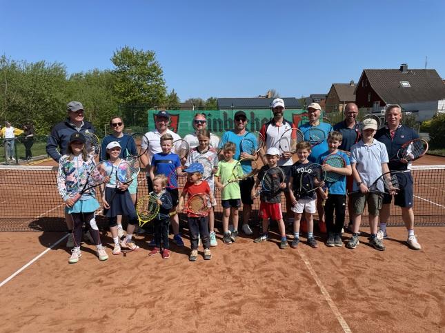 DTV Delligsen Tennisverein Gruppenbild